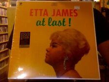 Etta James At Last! LP sealed 180 gm vinyl RE reissue WaxTime