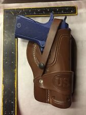 Colt 45 Model 1911 Leather Wild Bunch Style Field Holster