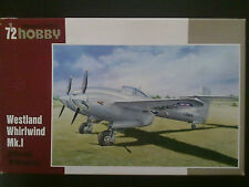 """Special Hobby 72204 Westland Whirlwind Mk. I """"Different Whirlwinds"""" 1:72 Kombive"""