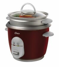 Oster 4722 3-Cup uncooked resulting in 6-Cup cooked Rice Cooker with Steaming