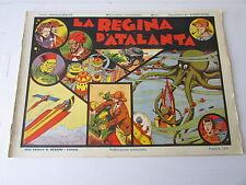 albi nerbini originali- LA REGINA DI ATALANTA - 09/1936 - A COLORI -