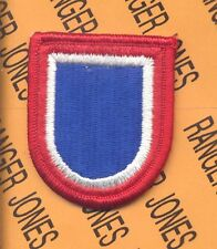 US Army 82nd Airborne Division NCBU beret flash patch m/e