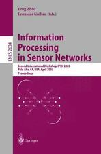 Lecture Notes in Computer Science: Information Processing in Sensor Networks...