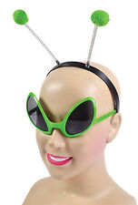 Alien Set (Glasses + Headband) Costume for Space Sci Fi Fancy Dress Outfit Kit S