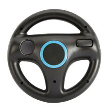Fashion Mario Kart Steering Wheel Controller For Nintendo Wii Black ABS Cool