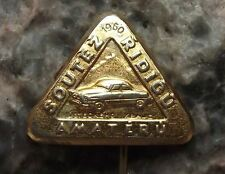 1960 Skoda Amateur Driving Competition Classic Felicia Octavia Car Pin Badge
