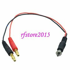 Glow Plug to 4mm Banana Plugs Charger Lead Wire for RC Helicoptor Car Boat Plane