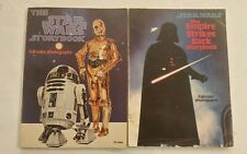 Vintage STAR WARS & Empire Strikes Back Storybooks Soft Cover Books FREE SHIPPIN