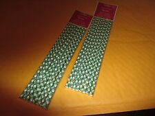 SPODE CHRISTMAS TREE PAPER STRAWS  8 PIECES PER PACK 2 PACKS