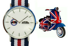 Reloj MC Scooter Vespa Union Jack (primavera,px,lx,t200,pk,125) watch armbanduhr