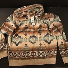 Denim & Supply Ralph Lauren NWT! men's XL SOUTHWESTERN TERRY HOODIE
