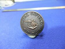 vtg badge royal Enfield motor cycle motorcycle bike gun club butlers  ww1 ?