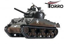 RC 1:16 Panzer Sherman M4A3 Profi-Edition BB Version Torro RC 1:16 Panzer