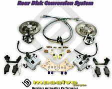 MSS Disk Brake Conversion Kit Rear Focus 99-08 Like SVT Aluminum Caliper Complet