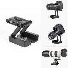 Aluminum Camera Folding Z Tripod Flex Pan&Tilt Ball Head Desktop Stand Holder US