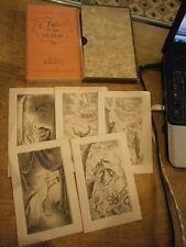 Nodier Ines de la Sierras Illustré R. Soupault Avec suite 1 des 50 exemplaires