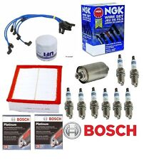 Land Rover Discovery II Tune Up Kit Oil-Air-Fuel-Filters-Spark Plugs-Wires 99-04