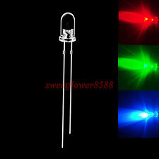 50pcs 5mm RGB Fast Flash Rainbow MultiColor Red Green Blue LED New Free Shipping