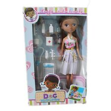 "Cartoon 10"" Doc McStuffins Clinic Girls Figure Toy Doll Christmas Gift"