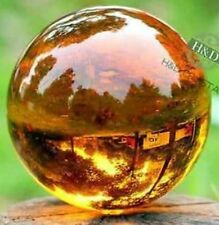 ASIAN CRYSTAL AMBER COLOR GIANT PERFECT BALL 375 CTS(40 MM) GEMSTONE