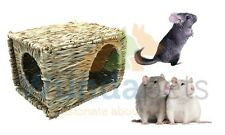 NATURE FIRST NATURAL RAT CHINCHILLA  GRASSY HIDEAWAY CAGE HUTCH DEN HOUSE 31047