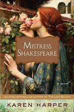 Mistress Shakespeare by Karen Harper 2009 Hardcover Brand New