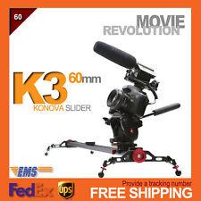 """Konova K3 100CM 40"""" Camera slider dolly Canon Sony Panasonic Nikon DSLR VDSLR"""