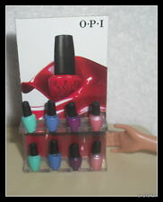 SALON ACCESSORIES  BARBIE SIZE OPI NAIL POLISH WITH DISPLAY STAND FOR DIORAMA