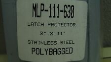 Don-Jo Stainless Steel Vandal Resistant 11x3 Lock Latch Protector MLP-111-630