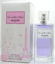 Jean Couturier Un Jardin a Paris 100 ml EDT Spray  Neu OVP