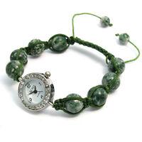 ECHO' Beautiful Semi-precious Shamballa Style Watch and Bracelet Set no.3