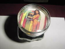 1950s SEXY PIN-UP JUKEBOX GAL STEERING KNOB-RAT STREET HOT ROD FORD CHEVY VLV
