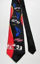 Ralph Marlin RM Sport MONSOON 1997 100% Silk Tie Power Attitude Audio