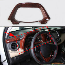Fit for Toyota RAV4 14- 2015 Chrome Dashboard Fanel decorative frame Trim Cover