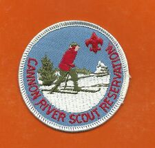 SCOUT BSA CAMP CANNON RIVER RESERVATION INDIANHEAD COUNCIL CROSS COUNTRY SKIER !