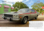 1974 PLYMOUTH ROAD RUNNER 318/170-HP ~ NICE 6-PAGE ARTICLE / AD - RARE CAR