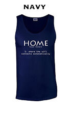 373 Home Wifi Tank Top rude funny cool college computer connect costume apple
