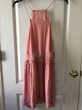 NWT FREE PEOPLE INTIMATELY TWO FOR TEA SLIP DRESS IN BLUSH  SIZE Small  $88