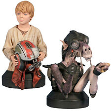 STAR WARS - Sebulba & Anakin 2-Pack 1/6th Scale Mini Busts (Gentle Giant) #NEW