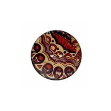 Buttons.etc ::Button #NT12603/64:: Coconut 40 mm Paisley