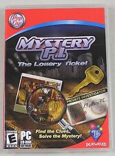 Mystery P.I.: The Lottery Ticket (PC, 2007) BY PopCap Games (Bejeweled)