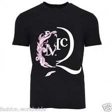 Authentic McQ by Alexander McQueen Black w/ White & Pink MCQ Logo T-Shirt M