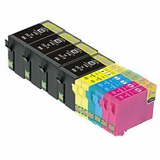 10 Pk T252XL Ink Cartridge for EPSON Workforce WF-3640, WF-7620, WF-7610