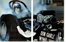 1965 TOP FUEL DRAG RACING / DON GARLITS ~ ORIGINAL 2-PG MAGAZINE PHOTO / PICTURE