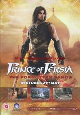 "Prince Of Persia The Forgotten Sands ""21st May"" 2010  Magazine Advert #4583"