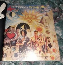 1989 Mint Print Ad Poster Tears for Fears The Seeds of Love Sun Art