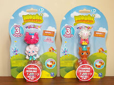 Moshi Monsters 2x3-Pack Moshlings=6 Figures, Series-1, Purdy Dipsy Flumpy Ginger