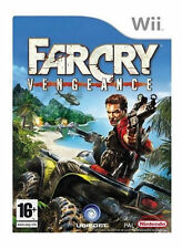 NINTENDO Wii GAME FAR CRY VENGEANCE ALL COMPLETE