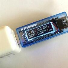 KEWEISI  USB 3V-9V 0-3A Battery Capacity Charger Tester Voltage Current Doctor