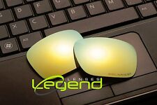 E54 Gold ETCHED POLARIZED Replacement Lenses For Oakley HOLBROOK